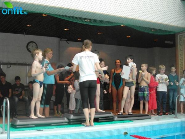 Первенство по плаванию фитнес-клуба VITASPORT