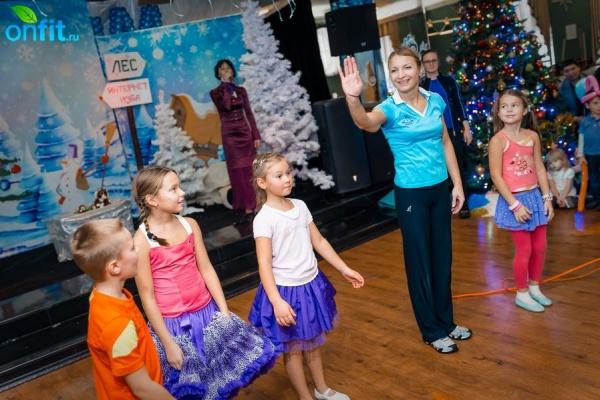 Новогодний праздник для детей в VITASPORT