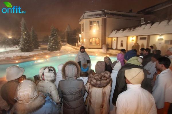 В клубе VITASPORT прошел праздник Крещения