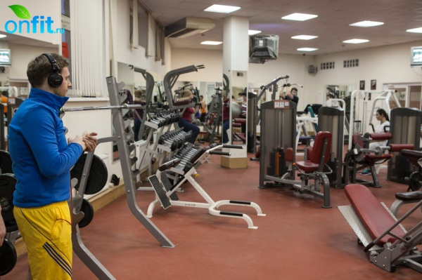 В гостях у фитнес-клуба Дворца спорта и стадиона «Янтарь»