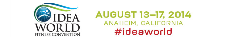 Фитнес-конвенция IDEA 2014