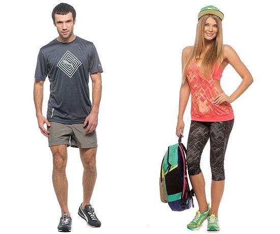 Компания Puma тоже не отстает: ее серия «Весна-лето 2014» полна сюрпризов. Немецкий бренд, который специализируется на спорте и активном образе жизни, решил снабдить свою одежду и графической, и разноцветной составляющей.