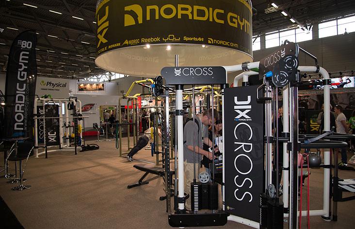 Стенд Nordic Gym на FIBO 2014