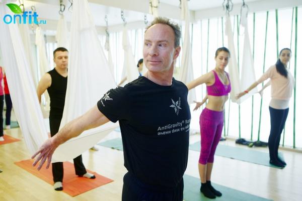 ������-����� Antigravity Yoga �� ���������� ��������� � I Love Fitnes