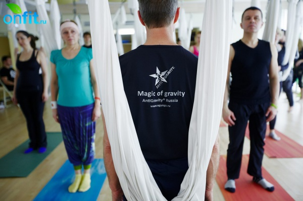 ������-����� Antigravity Yoga �� ���������� ��������� � I Love Fitnes