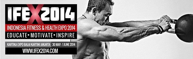 IFEX 2014 — фитнес-конвенция в Индонезии