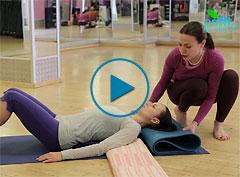 Комплекс по йоге при боли в шее