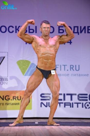 Тренер клуба Alligator на Кубке Москвы по бодибилдингу