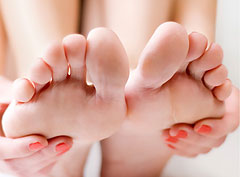 Как ухаживать за стопами ног