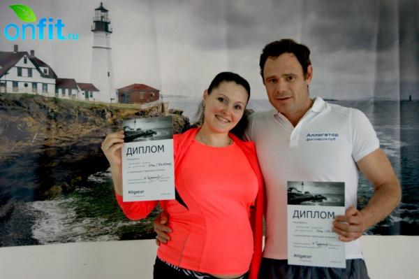 Члены фитнес-клуба Alligator переплыли пролив Ла-Манш!