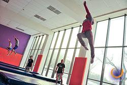 XIII соревнования по прыжкам на батуте среди спортсменов-любителей