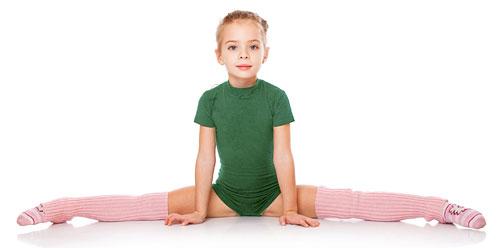 Детская художественная гимнастика в «ЕвроФитнес»