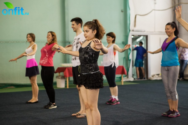 Танцы от души в фитнес-клубе Alligator!