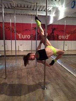 2 недели открытых уроков в студии Pole Dance в клубе «ЕвроФитнес»!