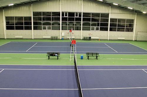 Теннисный центр «Резиденция» работает с октября 2013 года