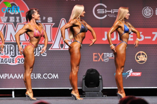 VIP-тренер «Мисс Фитнес» Марьино стала призером на Любительской «Олимпии» в Праге!