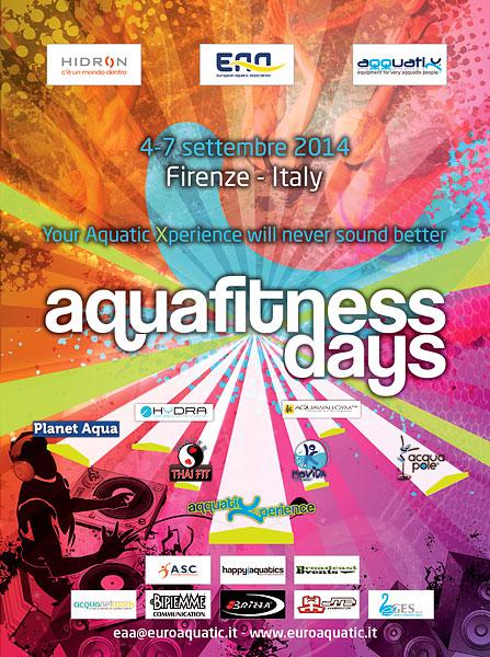 AquaFitness Days 2014 — крупнейшая конвенция по аквафитнесу