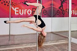 Сентябрь — месяц открытых уроков в студии Pole Dance клуба «ЕвроФитнес»!
