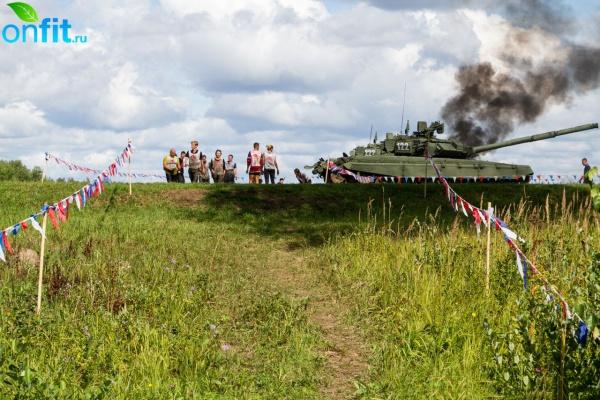 Военно-спортивная игра «Гонка героев»