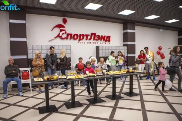 Открытие нового клуба «СпортЛэнд» Коломенская