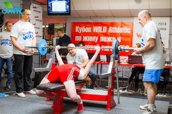 Кубок Wild Athletic по жиму лежа и становой тяге WPC