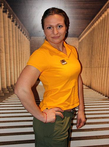 У нас появился новый обаятельный тренер Карабанова Валентина.