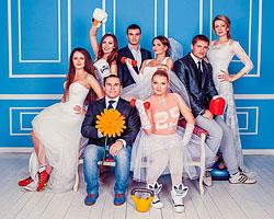 Шоу «Фитнес-свадьба» приуроченное к 5-летию «Фитнес-центра 100%»