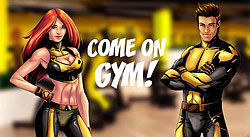 Новая сеть клубов Come On Gym. Почувствуй вкус суперсилы!