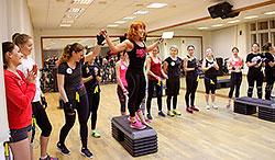 18 декабря 2014 г в «Мисс Фитнес» Сокольники выбирали самую ловкую, самую выносливую и самую сильную!