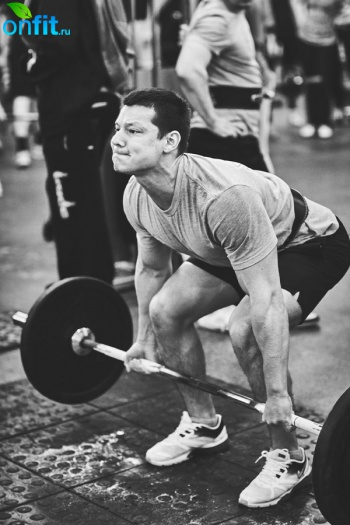 Соревнования по непрерывной становой тяге в «ДОН-Спорт» Атлант