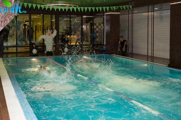 Зимнее первенство по плаванию WeGym Барклая