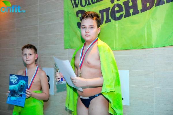 Зимнее первенство по плаванию WeGym Зеленый
