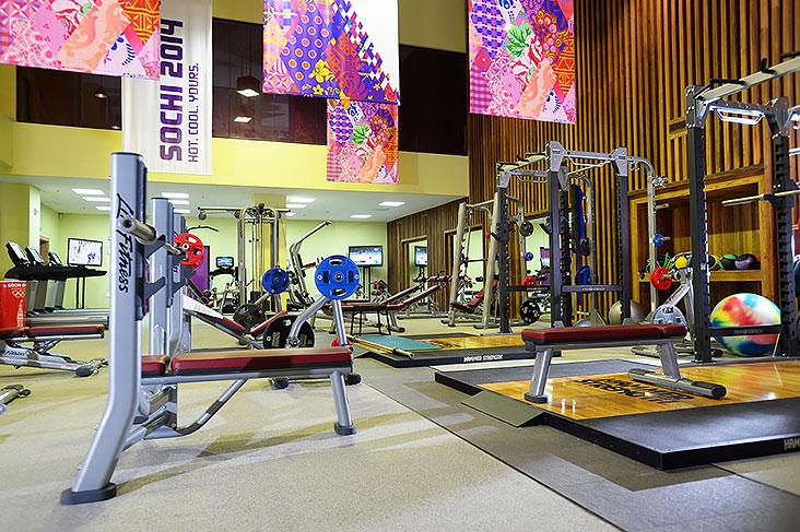 Фитнес на олимпийских тренажерах