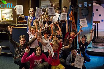 Детский клуб фитнес-клуба Marina Club провёл традиционный спортивный праздник «День защитника отечества»
