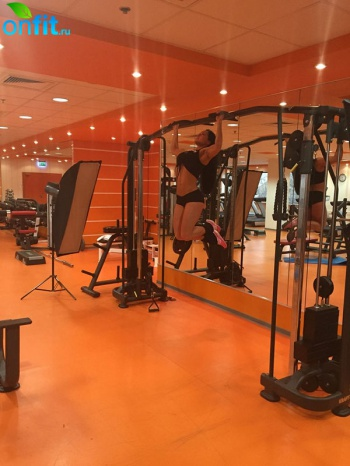 В фитнес-клубе «Академия силы» прошла фотосессия