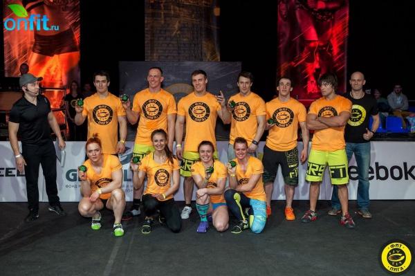 Вторая схватка «ФИТ-Лиги» подвела черту под CrossFit Games Open 2015