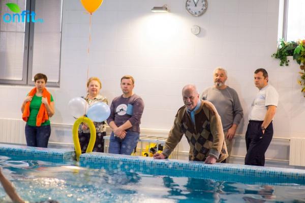 Заключительные соревнования по плаванию в фитнес-клубе N-ERGO