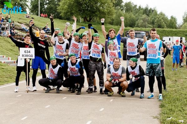 Фитнес-чемпионат «Гонка героев» состоялся! Часть 1