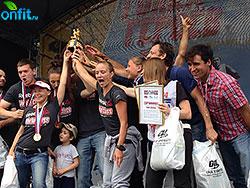 Команда World Class заняла первое место на «Гонке героев»