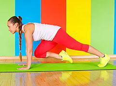 Комплекс интенсивных упражнений, помогающих сжечь жир и похудеть