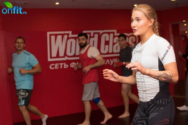 Мастер-класс Анастасии Яньковой в World Class Северная башня