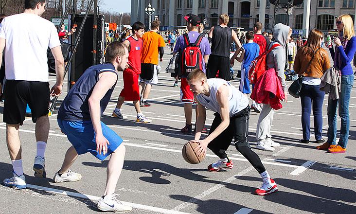 Moscow City Games 2015 в Лужниках