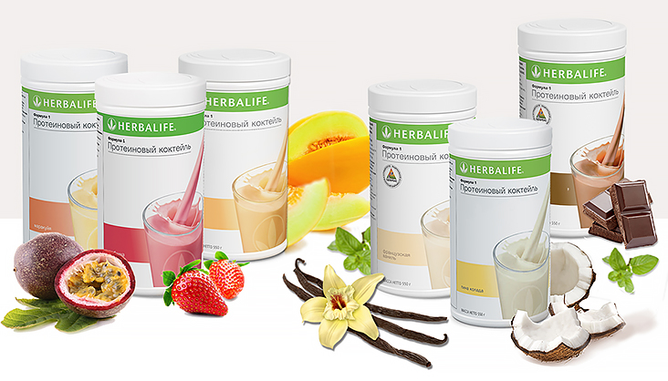 Лето с тропическими вкусами Формулы 1 от Herbalife.