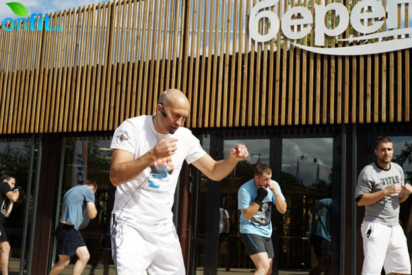 Спортивный праздник в фитнес-студии «Берег»