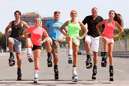 Занятия на свежем воздухе в студии фитнеса «Лотос»