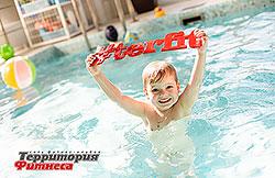 «Территория Фитнеса» научит ваших детей плавать