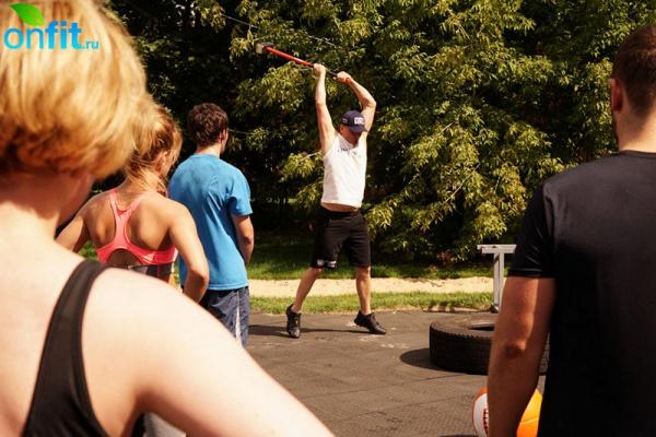 Боевой фитнес в клубе «Берег»
