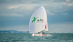 X-Fit – генеральный фитнес-партнер Гранд-финала Национальной парусной Лиги 2015