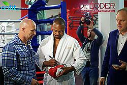 Звезда мирового бокса Рой Джонс в гостях у Dr.Loder