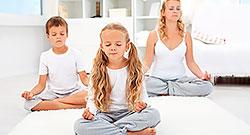 Йога для детей и подростков в фитнес-клубе «Атланта»